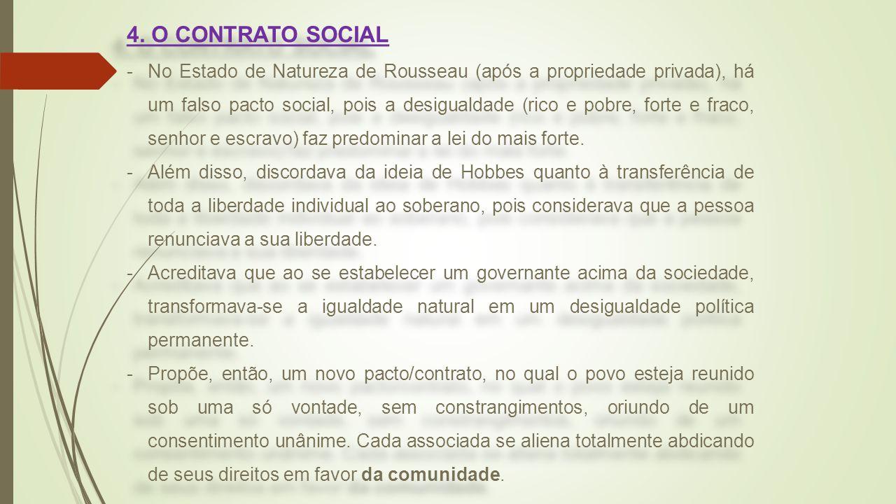 4. O CONTRATO SOCIAL