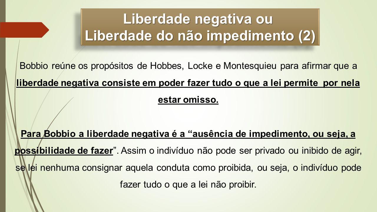 Liberdade do não impedimento (2)