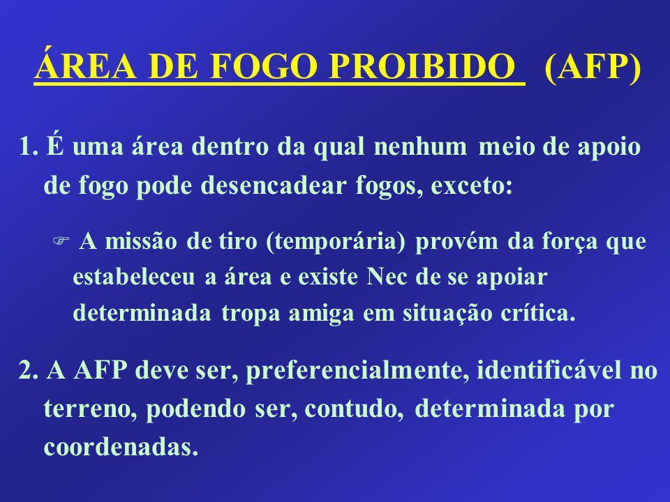 ÁREA DE FOGO PROIBIDO (AFP)
