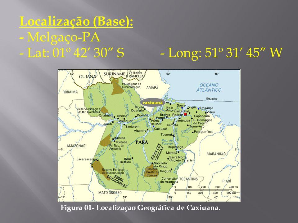 Localização (Base): - Melgaço-PA