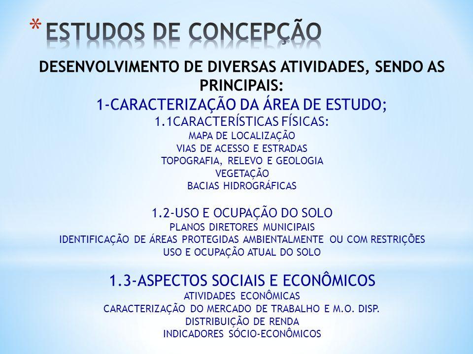 DESENVOLVIMENTO DE DIVERSAS ATIVIDADES, SENDO AS PRINCIPAIS: