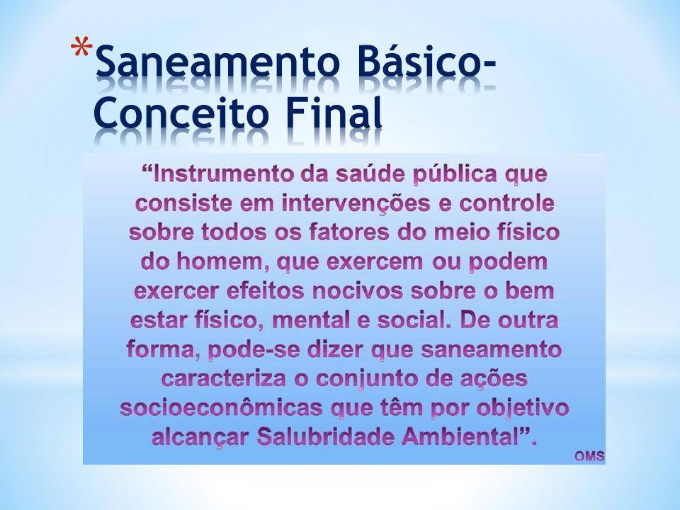Saneamento Básico- Conceito Final