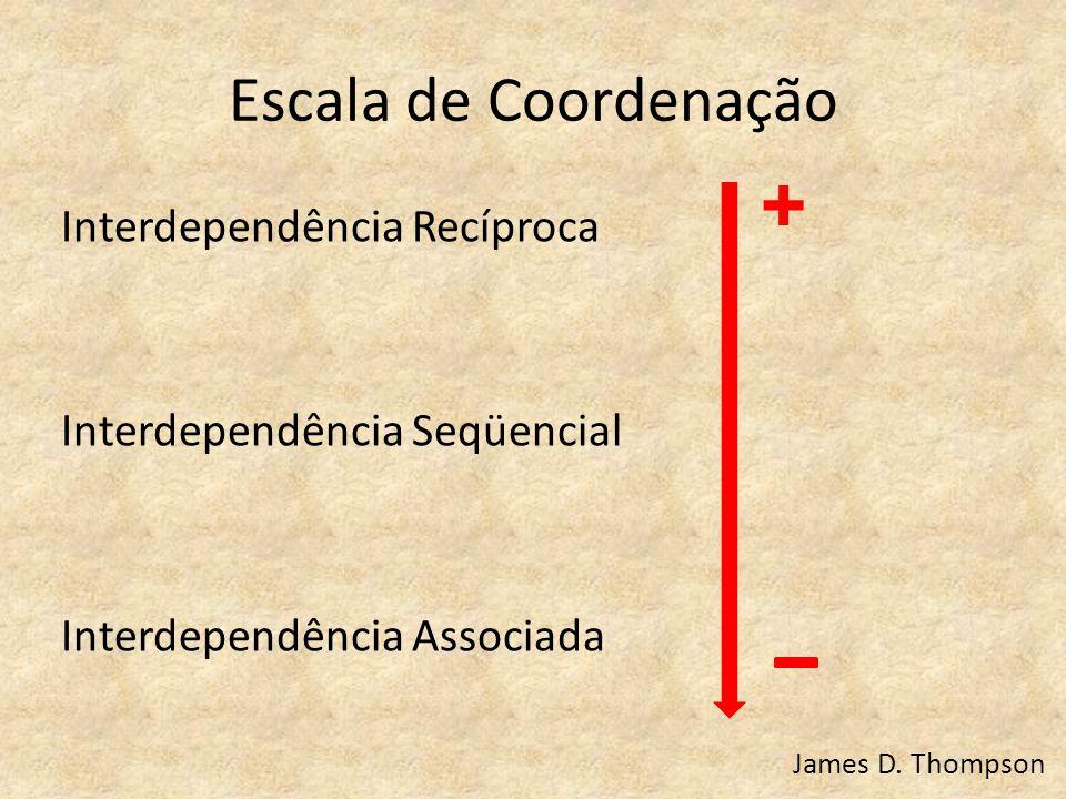 + Escala de Coordenação
