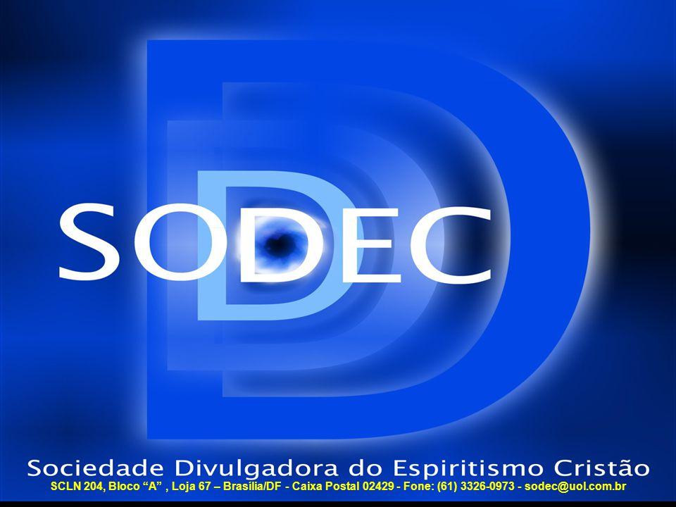 SCLN 204, Bloco A , Loja 67 – Brasília/DF - Caixa Postal 02429 - Fone: (61) 3326-0973 - sodec@uol.com.br