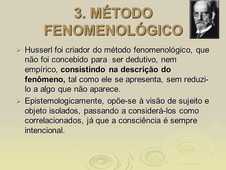 3. MÉTODO FENOMENOLÓGICO