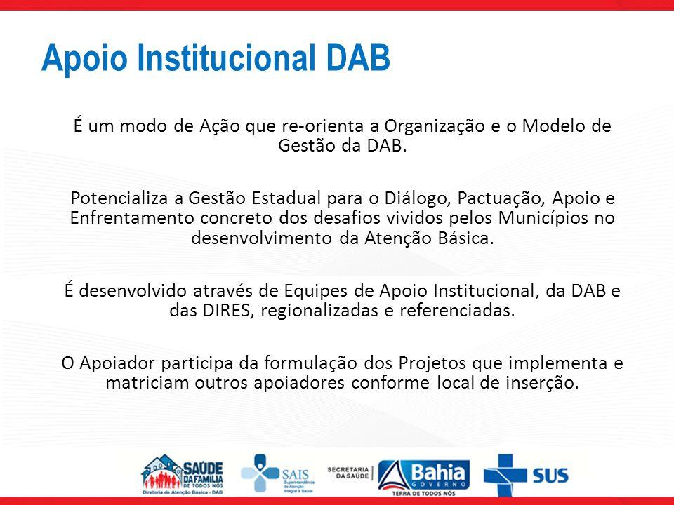 Apoio Institucional DAB