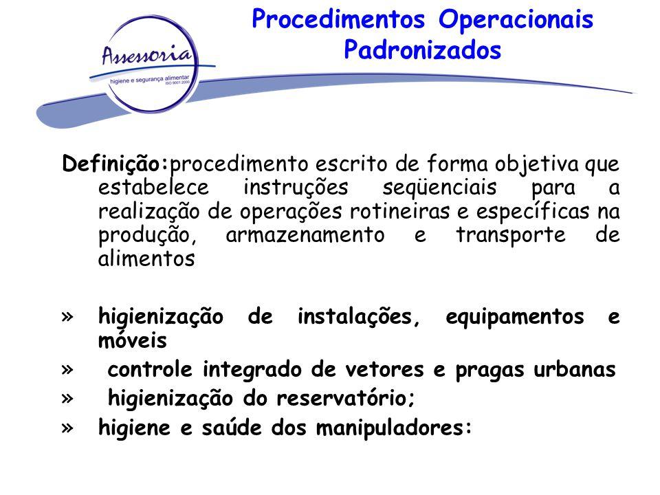 Procedimentos Operacionais Padronizados