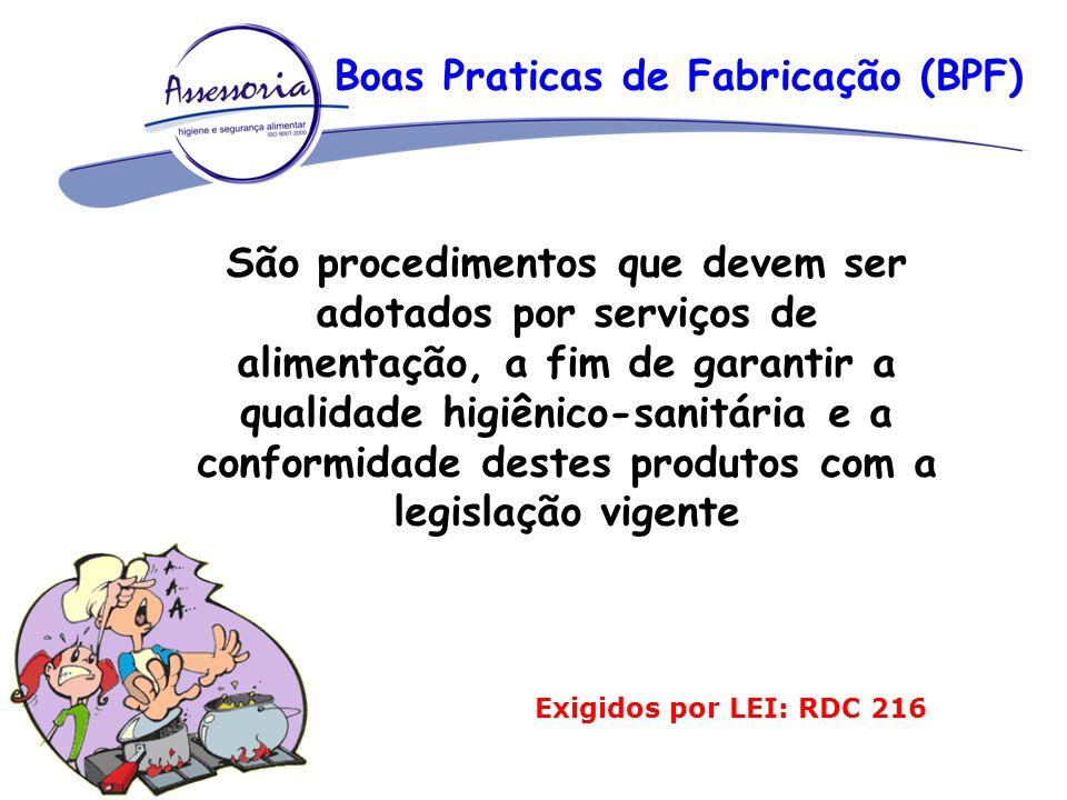 Boas Praticas de Fabricação (BPF)