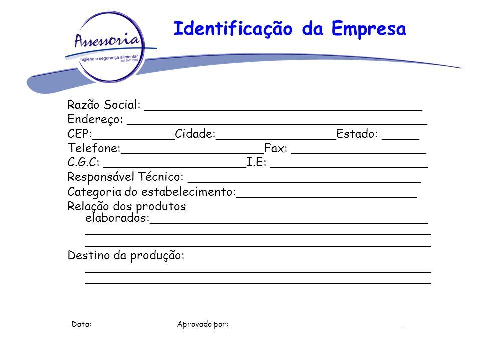 Identificação da Empresa