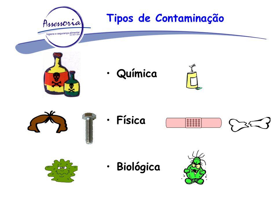 Tipos de Contaminação Química Física Biológica
