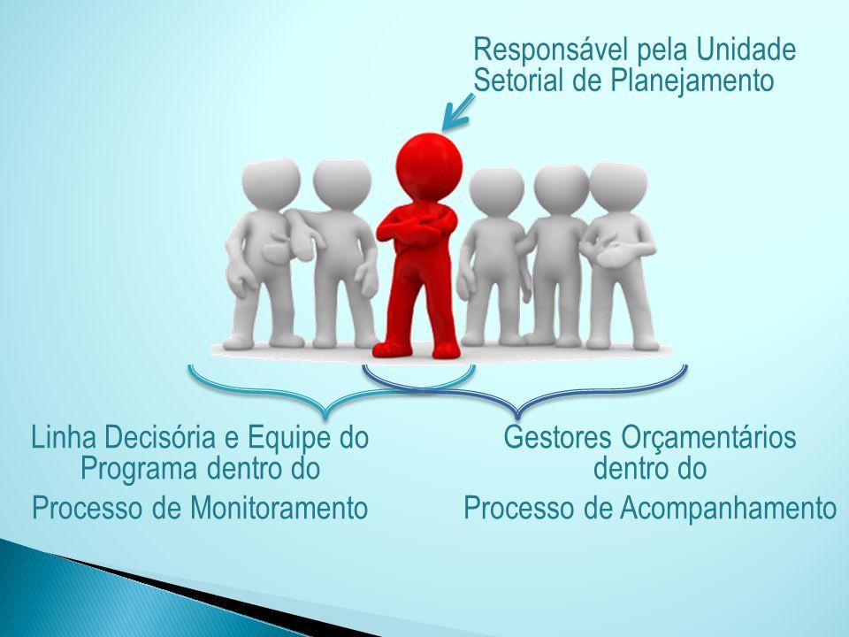 Responsável pela Unidade Setorial de Planejamento