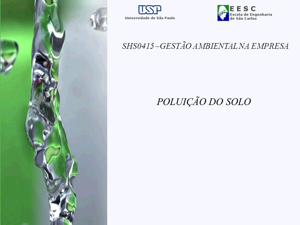 SHS0415 –GESTÃO AMBIENTAL NA EMPRESA