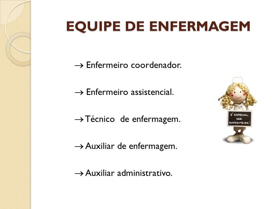 EQUIPE DE ENFERMAGEM