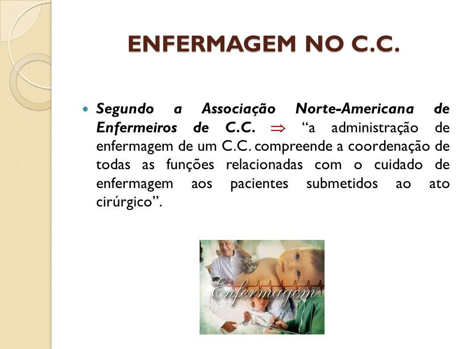 ENFERMAGEM NO C.C.