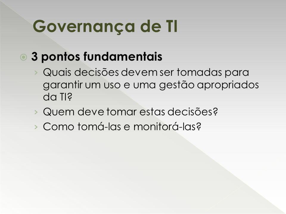 Governança de TI 3 pontos fundamentais