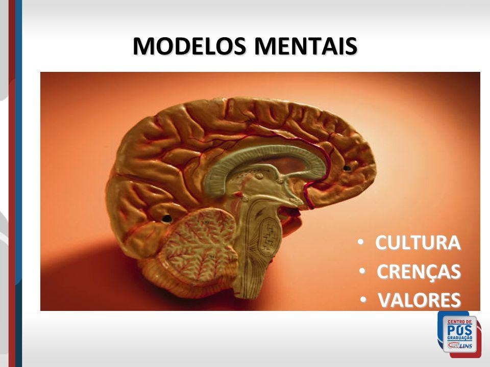 MODELOS MENTAIS CULTURA CRENÇAS VALORES