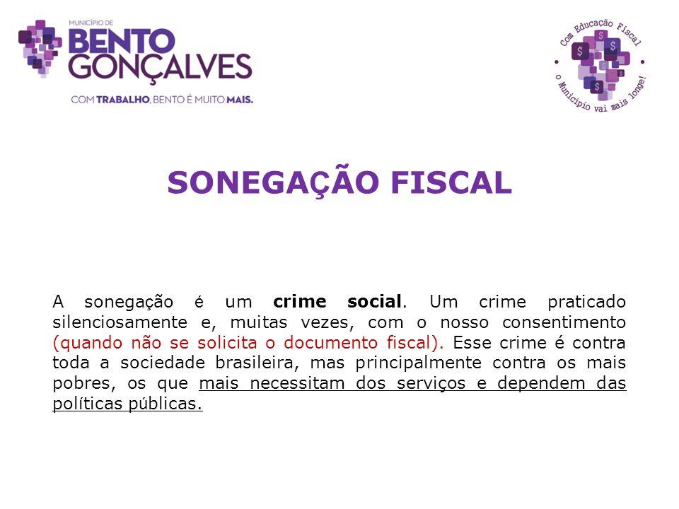 SONEGAÇÃO FISCAL