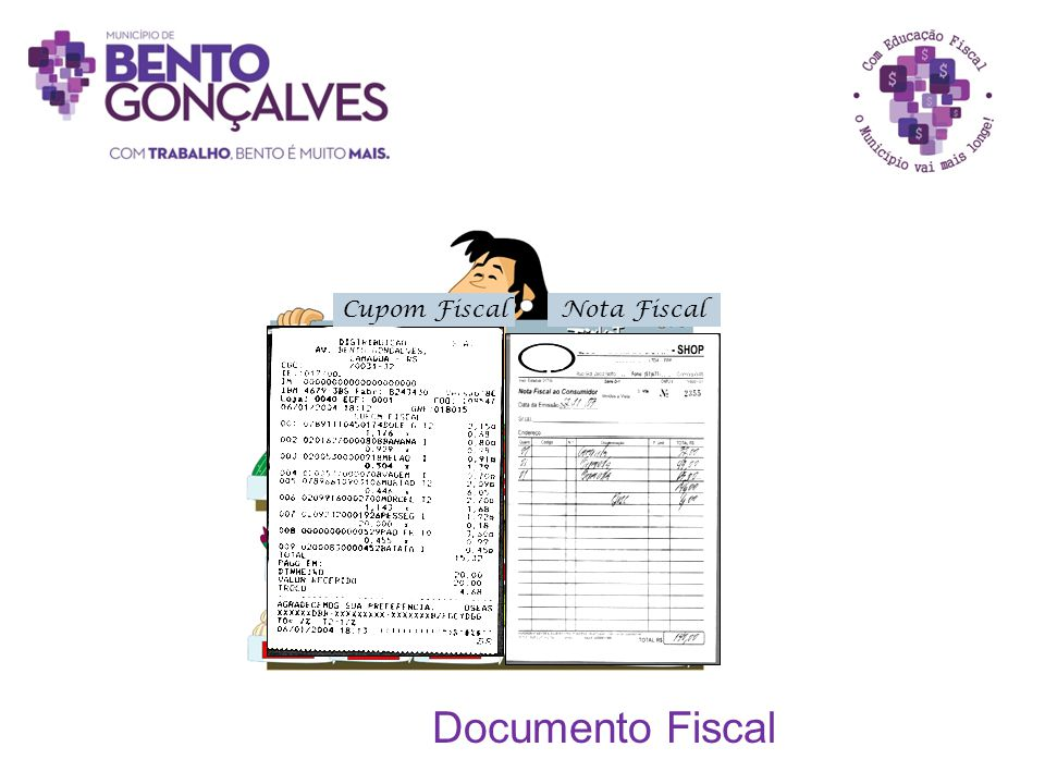 Cupom Fiscal Nota Fiscal Documento Fiscal