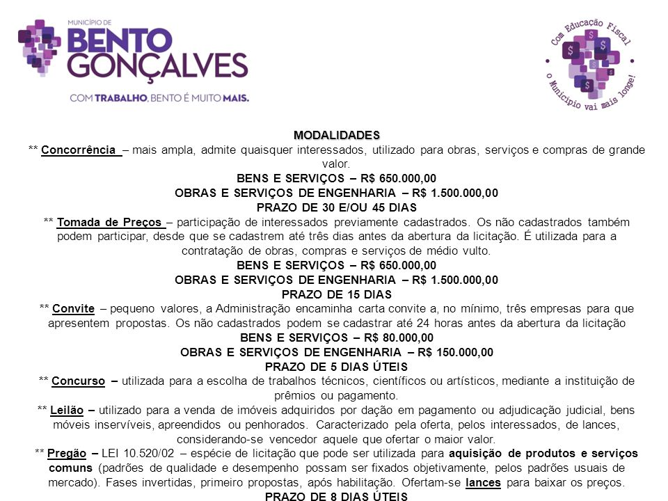 OBRAS E SERVIÇOS DE ENGENHARIA – R$ 1.500.000,00