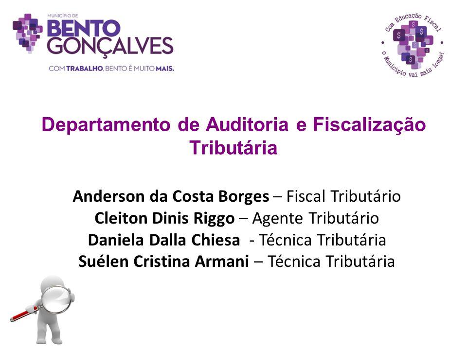 Departamento de Auditoria e Fiscalização Tributária