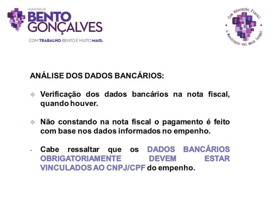 ANÁLISE DOS DADOS BANCÁRIOS: