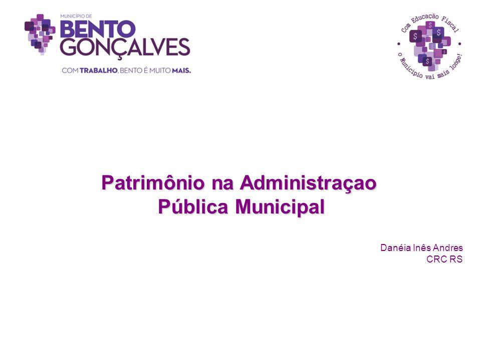 Patrimônio na Administraçao