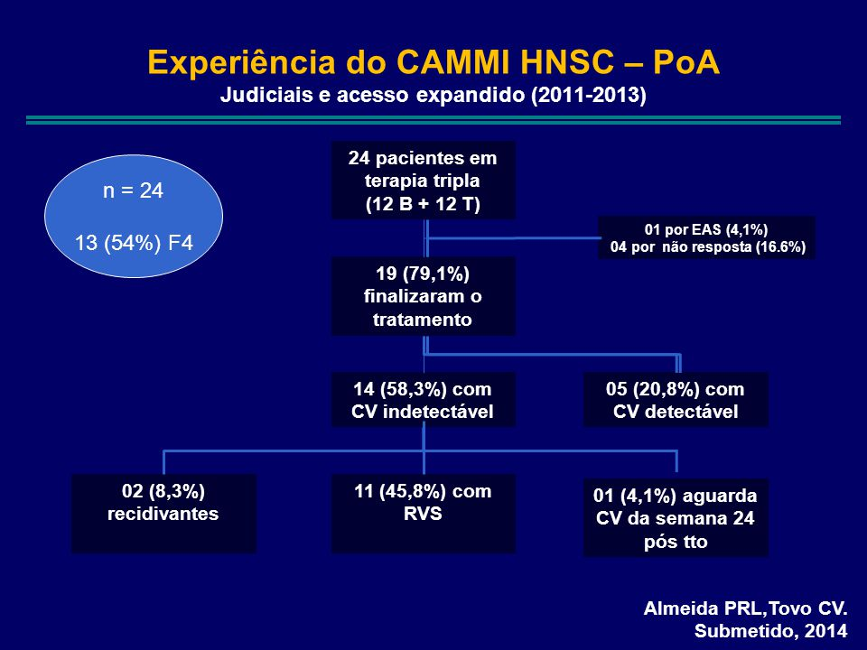 Experiência do CAMMI HNSC – PoA Judiciais e acesso expandido (2011-2013)