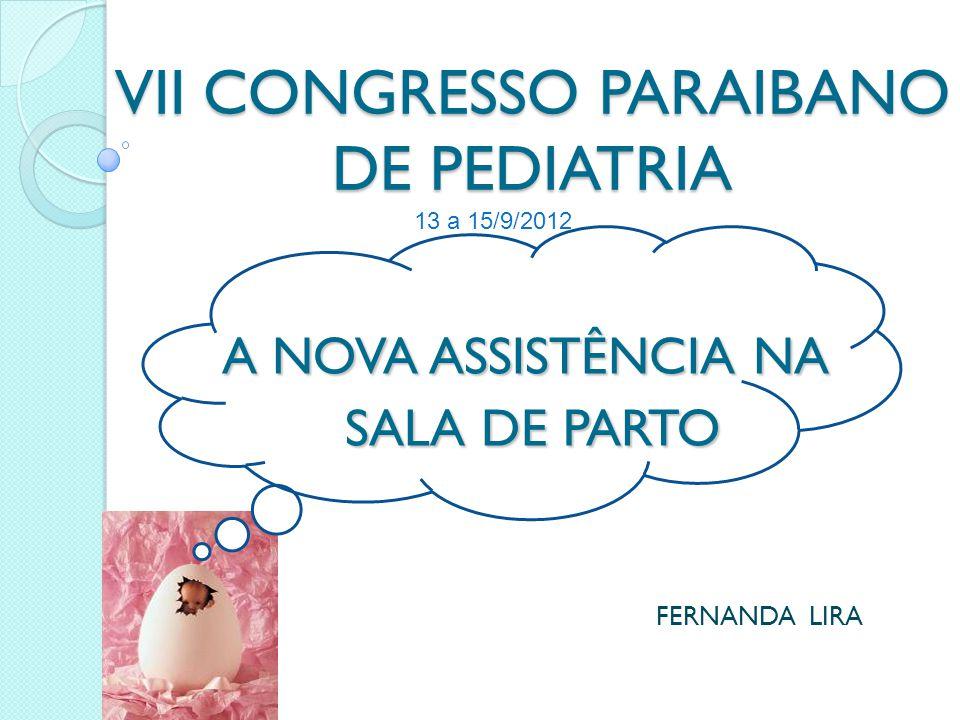 VII CONGRESSO PARAIBANO DE PEDIATRIA
