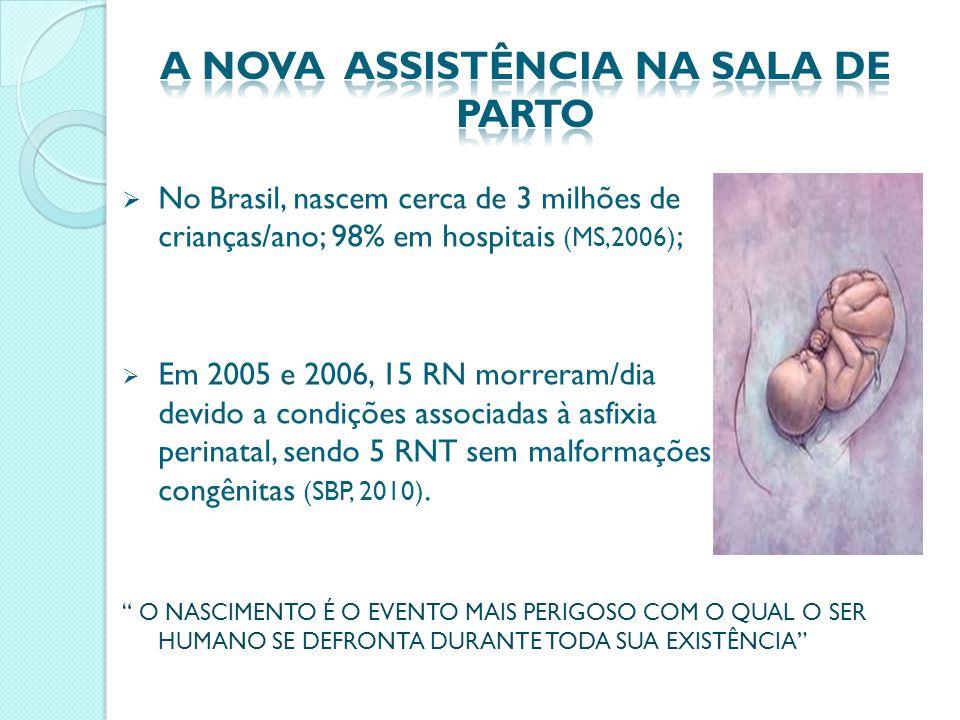 A NOVA ASSISTÊNCIA NA SALA DE PARTO