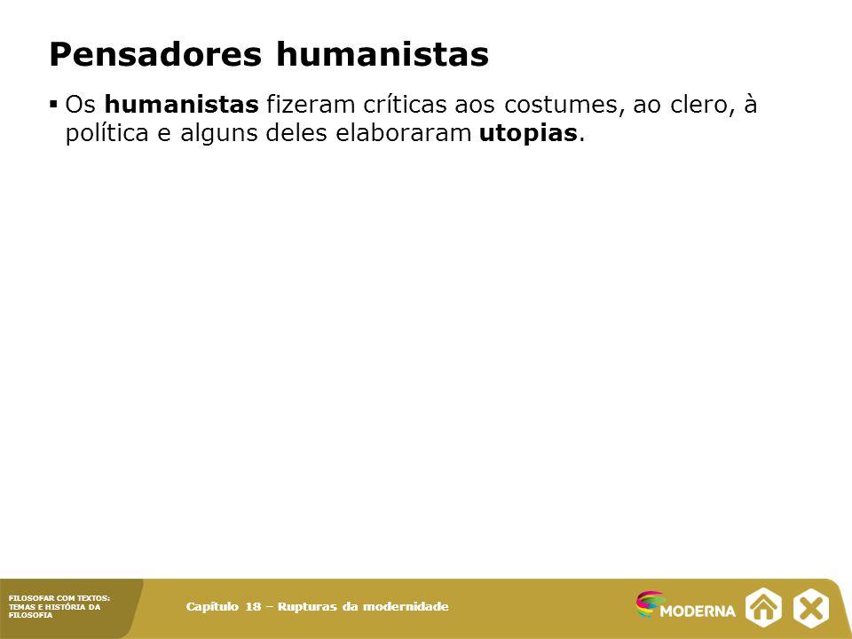 Pensadores humanistas