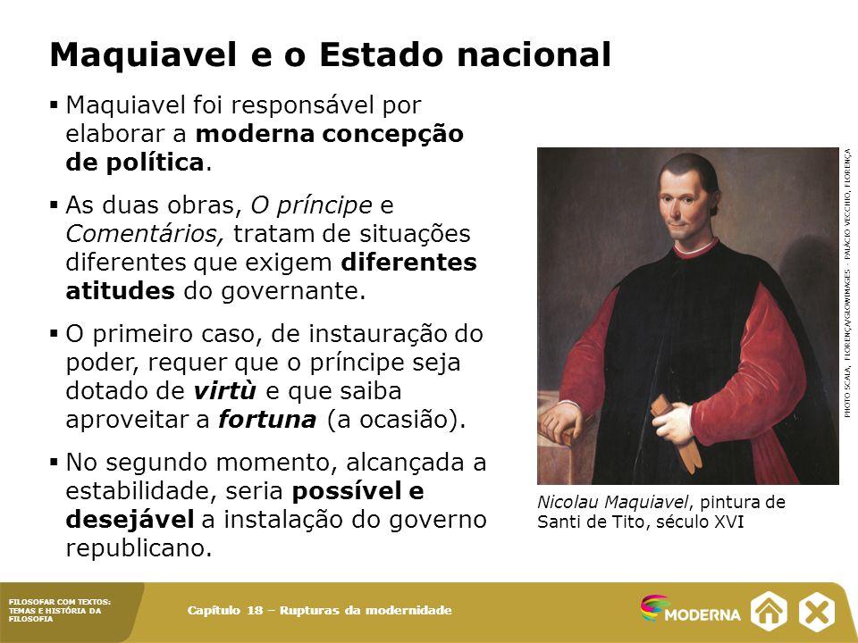 Maquiavel e o Estado nacional