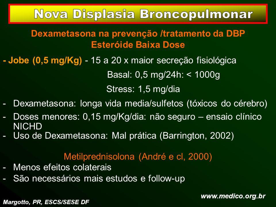 Dexametasona na prevenção /tratamento da DBP