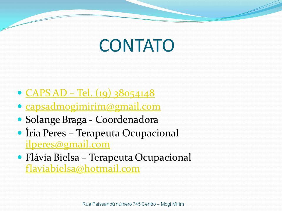 CONTATO CAPS AD – Tel. (19) 38054148 capsadmogimirim@gmail.com