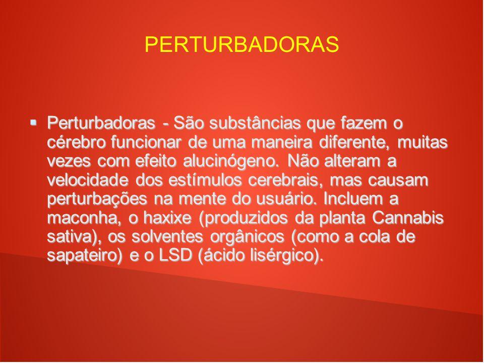 PERTURBADORAS