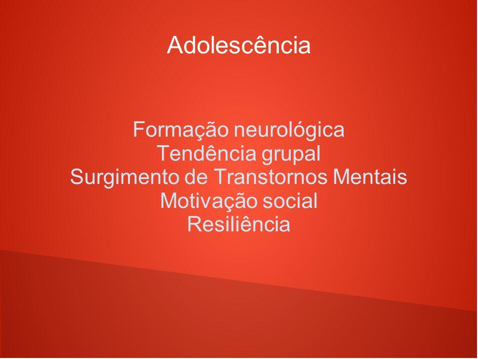 Surgimento de Transtornos Mentais