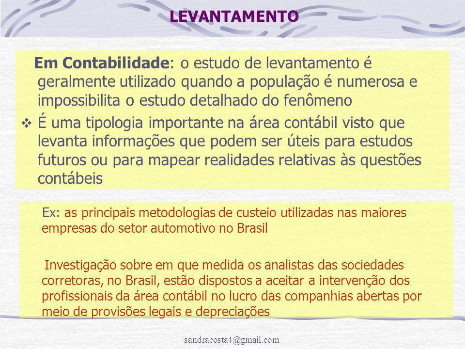 LEVANTAMENTO