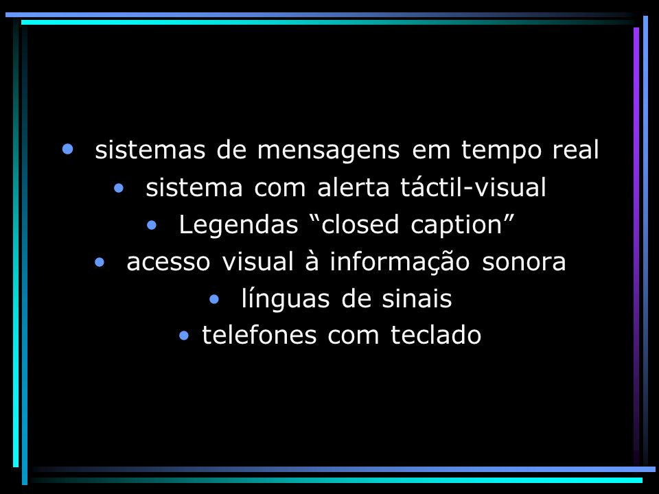 sistemas de mensagens em tempo real