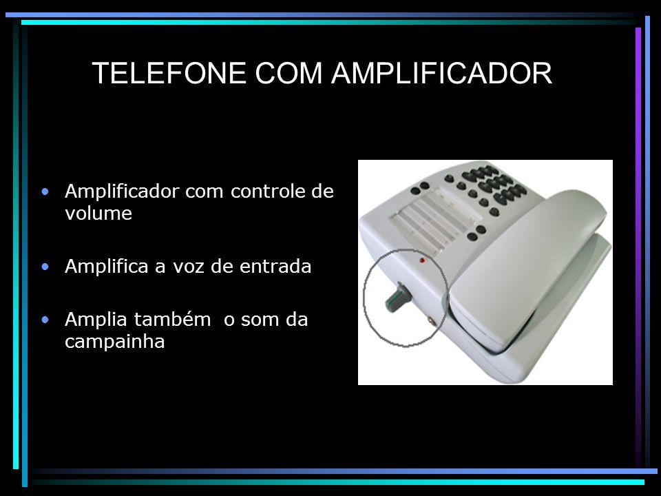 TELEFONE COM AMPLIFICADOR