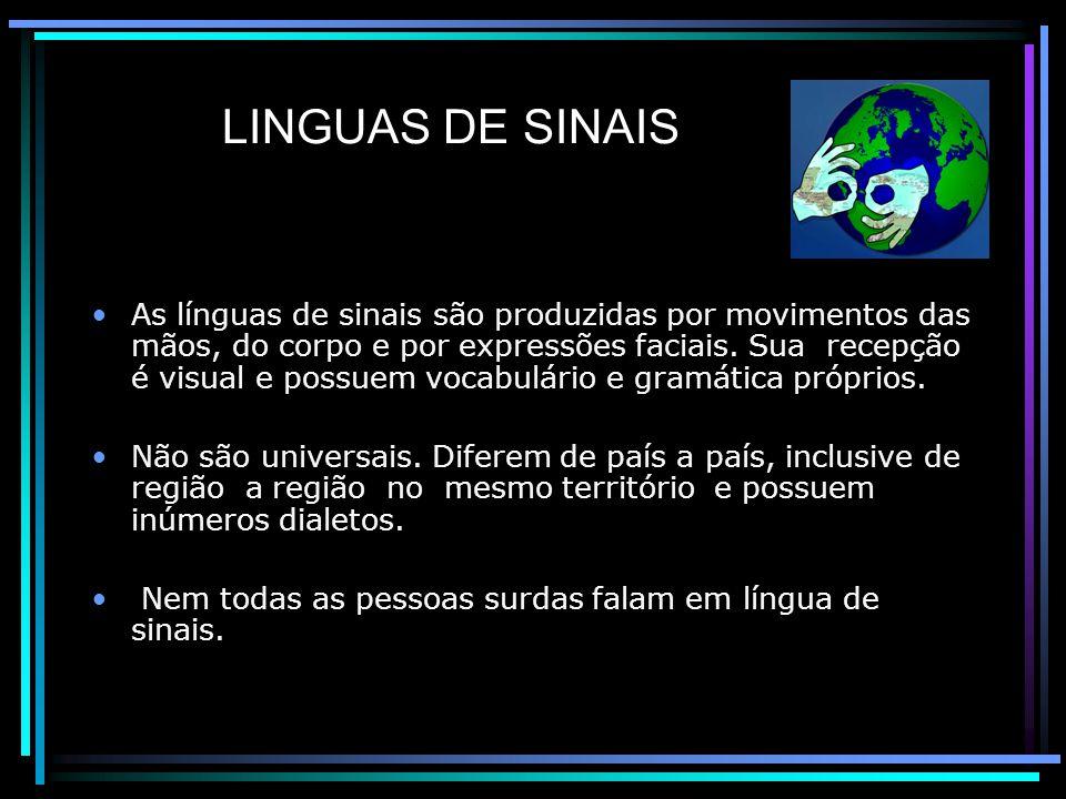 LINGUAS DE SINAIS