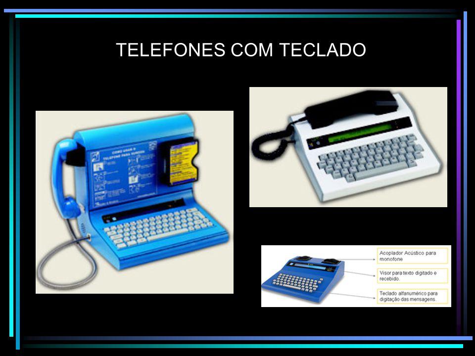 TELEFONES COM TECLADO