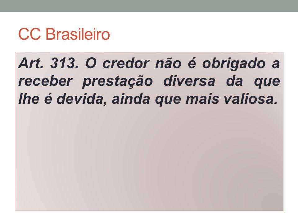 CC Brasileiro Art. 313.
