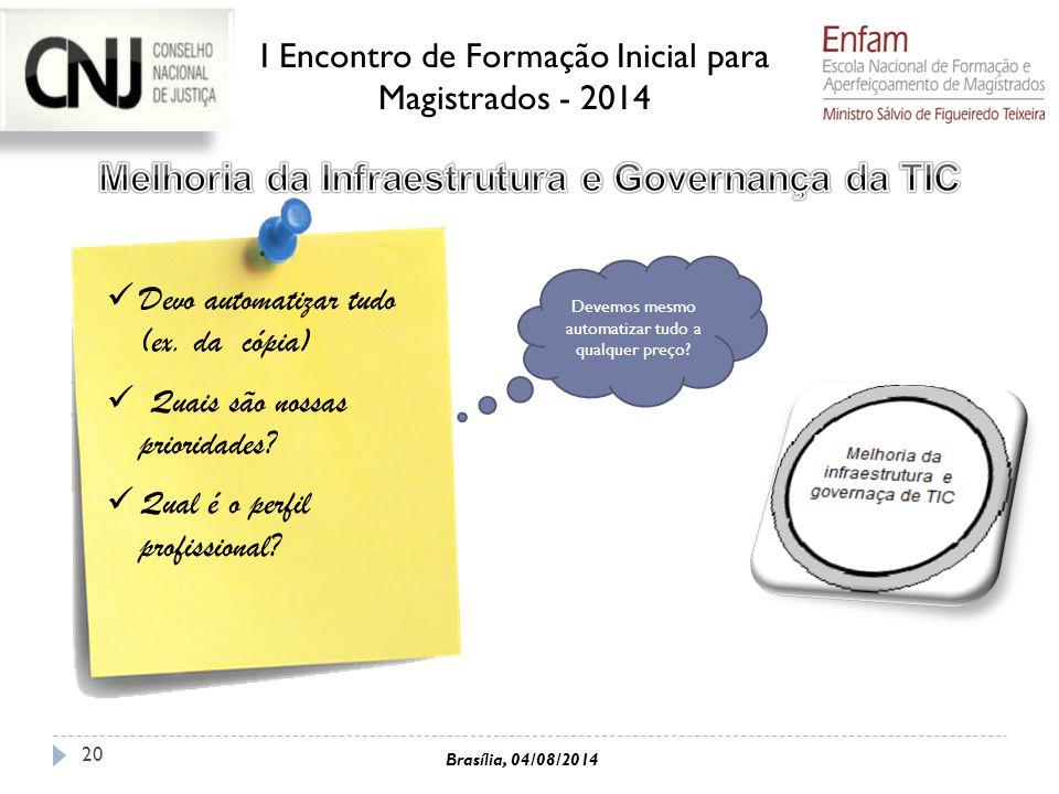 Melhoria da Infraestrutura e Governança da TIC