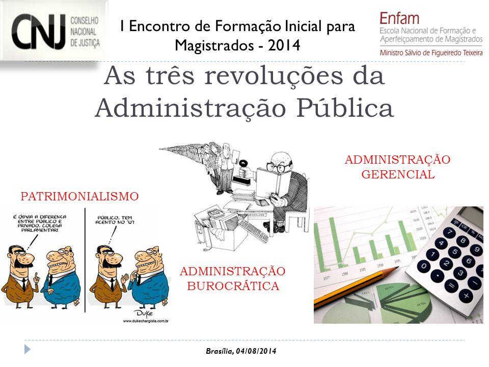 As três revoluções da Administração Pública