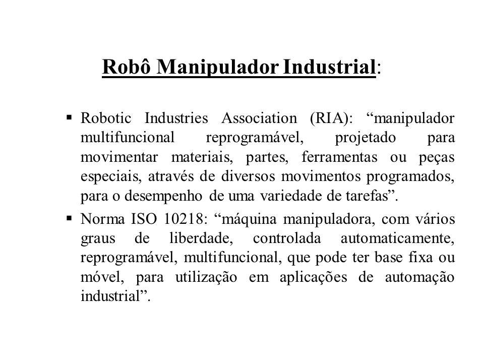 Robô Manipulador Industrial: