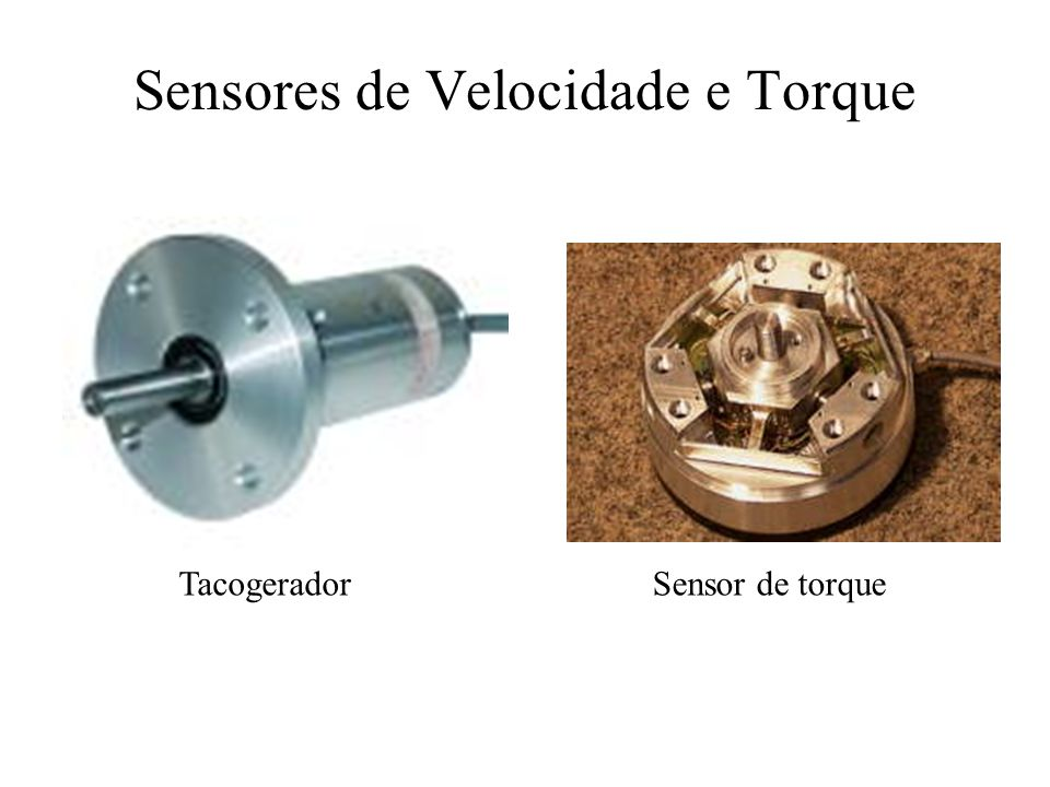 Sensores de Velocidade e Torque