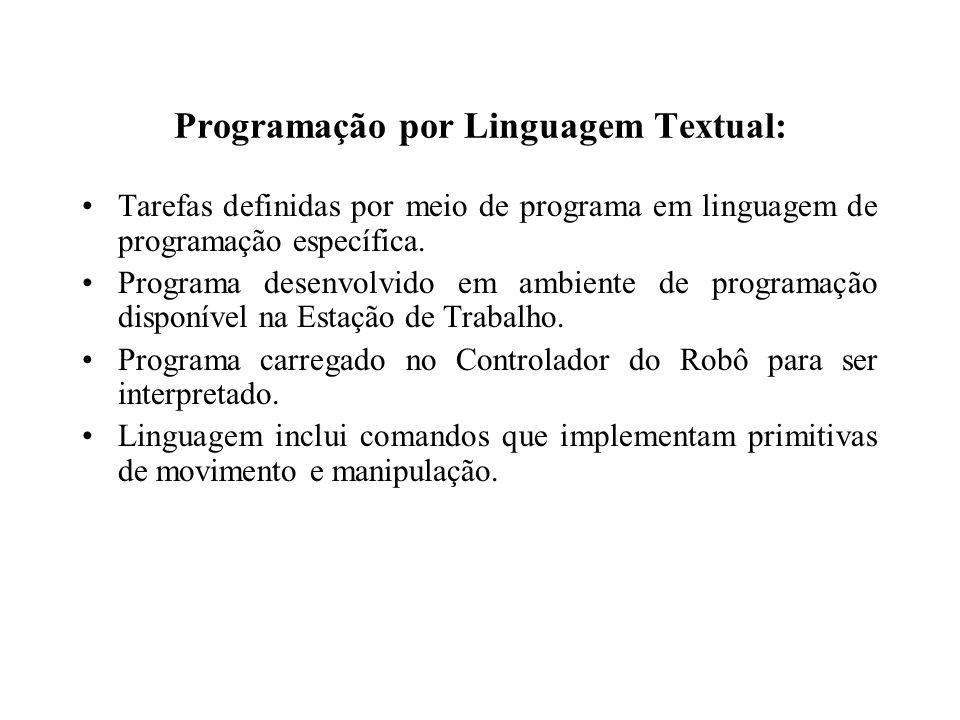 Programação por Linguagem Textual: