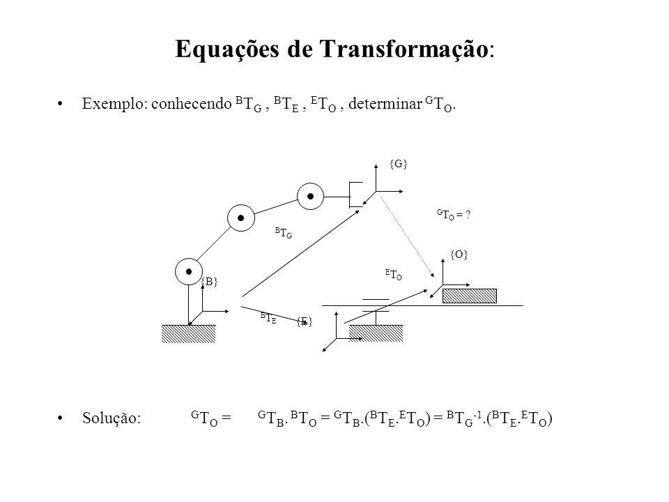 Equações de Transformação:
