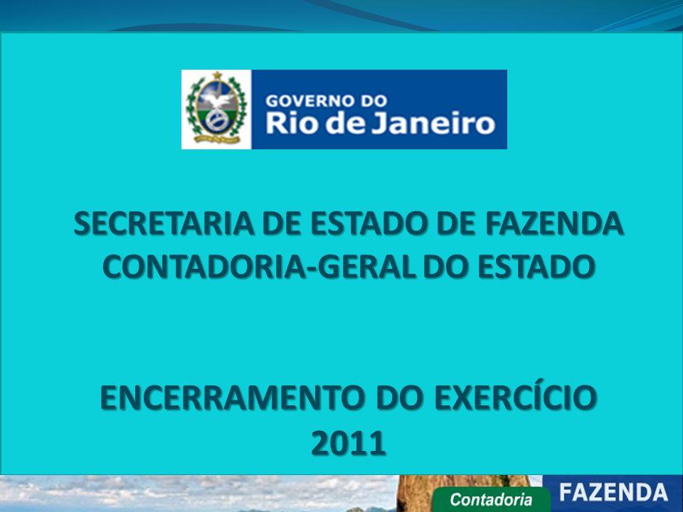 ENCERRAMENTO DO EXERCÍCIO 2011