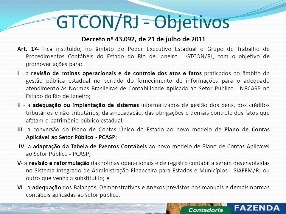 Decreto nº 43.092, de 21 de julho de 2011