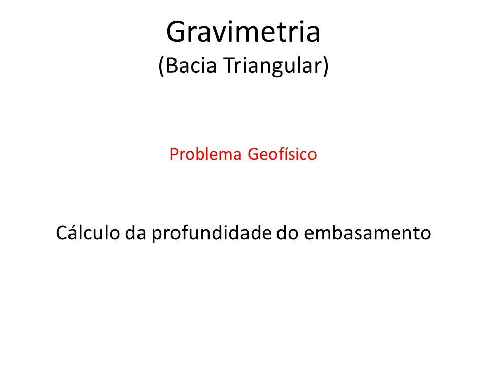 Gravimetria (Bacia Triangular)